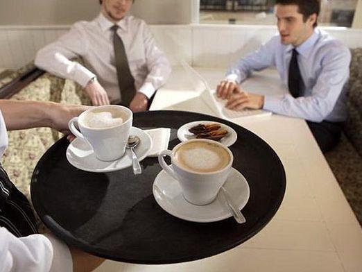 Як подавати каву?