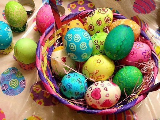 Як прикрасити великодні яйця?